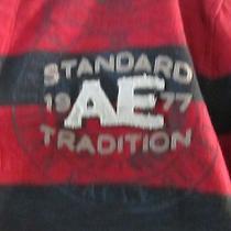 Lot of 3 Mens Shirts American Eagle Billabong Size L Photo