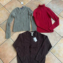 Lot of 3 - Nwt Gap Women's Size Xs Extra Small Sweaters Photo
