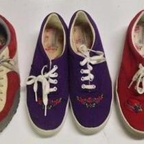 Lot of 3 Size 8.5 Women's Sneakers North Face Keds Photo