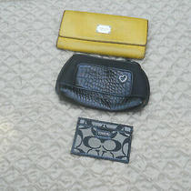 Lot of 3 Wallets Michael Kors Brighton Coach Photo