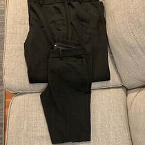 Lot of 3 Womens Express Columnist Black Dress Pants Size 4 Bootcut Hook & Eye Photo