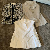 Lot of 3 Womens Blazers/jackets.  Size 6/medium Photo
