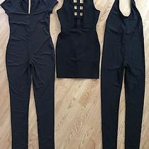 Lot of 3 Womens Jumpsuits Dress Fashion Nova Forever 21 Size Small Photo