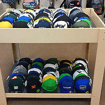 Lot of 355 Name Brand Hats Dakine Dc Neff Burton Volcom Photo