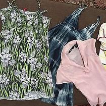 Lot of 4  Forever 21 h&m Express Shirts Blouse Dress Sweaters S Good Condition Photo