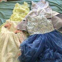 Lot of 4 Girls Design Dresses (Size 8-10) Photo