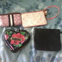 Lot of 4 Handbag Accessories. Coach Betsey Johnson Juicy Couture  Photo