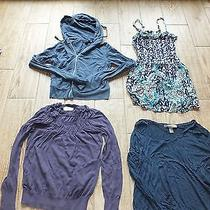 Lot of 4 Juniors Women's Shirts Xsmall Shirts Tops Blouses Ann Taylor Express Photo