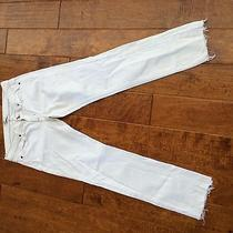 Lot of 4 Ladies White Jeans Habitual Joes Ralph Lauren Nydj  Photo