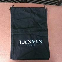 Lot of 4 Lanvin Paris Cloth Bags Photo