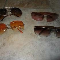 Lot of 4 Pairs of Women's Sunglasses Brighton & Steve Madden Photo