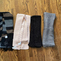 Lot of 4 Scarves (Express New York & Company Charlotte Russe) Photo
