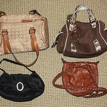 Lot of 4 Small Purses Guess and Other Makes Excellent Condition Photo