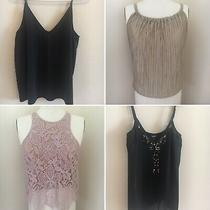 Lot of 4 Summer Tops h&m Abercrombie Express - All Fit Size Xs/s Photo
