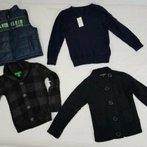 Lot of 4 Toddler Sweaters/ Outerwear Sz 3t Photo