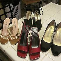Lot of 4 Womens Shoes Size 6 1/2 Jill Stuart  Nina  Amanda Smith Apostrophe Photo