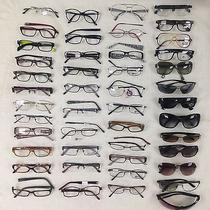 Lot of 46 Eyeglasses / Sunglasses Chanel Versace Bvlgari Dior and Others Photo
