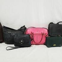 Lot of (5) Coach (1) Kate Spade Bag/purse(s) Photo