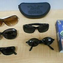Lot of 5 Designer Sunglasses Elle Enzo Angiolini Elle Panama Jack Fosil W/ Case Photo