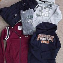 Lot of 5 Men's Small American Eagle Hollister Aeropostale Abercrombie Hoodie Photo