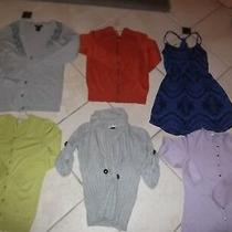 Lot of 5 - Sweaters/dress - Micheal Kors - Guess - Halogen - Calvin Klein -  Photo