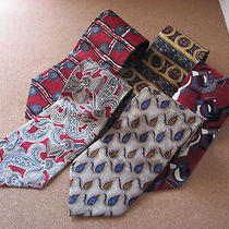 Lot of 5 Ties Nordstrom Pierre Balmain Fierte