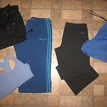 Lot of 5 Womens Nike/adidas - Sweatsshortstankfleece - Size Xl- Awesome Photo