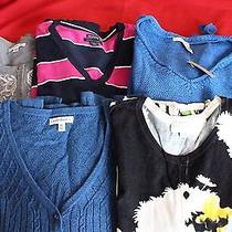 Lot of 5 Womens Sweaters Tommy Hilfiger Dkny and Others Photo
