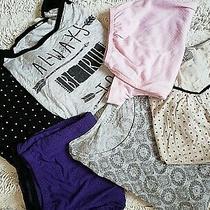 Lot of 6 Aeropostale Simply Vera h&m Sleepwear Top Shorts Shirt Pants M/l Photo