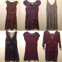 Lot of 6 Dresses Urban Outfitters Anthropologie Nasty Gal Size Small Medium Photo