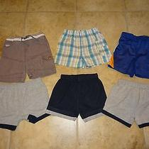 Lot of 6 Infant / Baby Boys Size 12 Months Shorts Guess & Others Photo