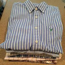 Lot of 6 Men's S-M L Shirts American Eagle Hollister Fossil Izod Salt. Photo