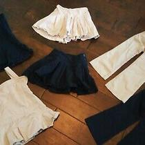 Lot of 6 School Uniform Gap Girls Jumpers Skorts Pants Khaki Navy sz.xss 4-6 Photo