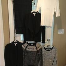 Lot of 6 Sweaters Xs and S Banana Republic Lou and Grey Express Fossil Photo
