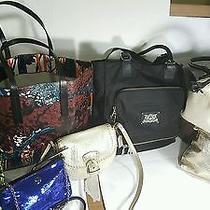 Lot of 8 Designer Purses 1 Juicy Couture 2 Coach 2 Zara Woman Vera B & Others Photo