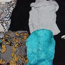 Lot of 8 Size Large Tops Old Navy Mossimo Op White Stag Ambiance Cotton Express Photo