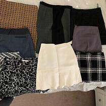 Lot of 9 Ann Taylor Loft & Gap  Dkny Skirts Size 6&8 Photo
