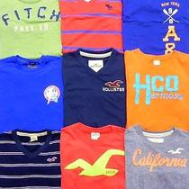 Lot of 9 -- Mens Size Large Graphic T-Shirts -- Hollister  Abercrombie & Fitch Photo