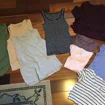 Lot of 9 Tanks and Tops. Gap American Eagle Abercrombie - Size S and Xs Photo