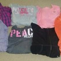 Lot of (9)women's American Eagle Outfitters/hollister & Billabong Tops  Size M  Photo