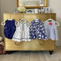Lot of Adorable Baby Girl Dresses and Tops 0-3 3-6 0-6 Months J Crew Gap Photo