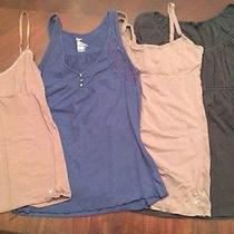 Lot of American Eagle Gap Express Small Tank Tops Photo