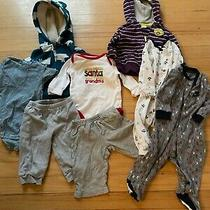 Lot of Baby 6 Months Clothes Coats Shirts Pants & Pj's Nike Carters & More Photo
