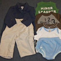 Lot of Baby Boy Gap Clothes 6-12 Months  Photo