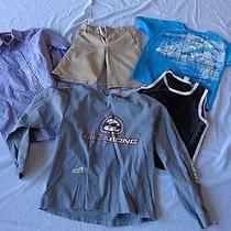 Lot of Boys Clothes Size 10 Dickies  Billabong and Others Photo