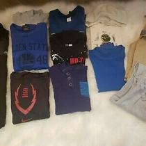 Lot of Boys Long Sleeve Sweaters & Pants Size 10/12 Gap Snozu Nike Photo