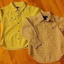 Lot of Boys Name Brand Dress Shirts Euc Dkny & Ralph Lauren Photo