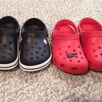Lot of Boys Size 1-3 Crocs Photo