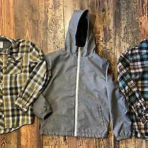 Lot of Boys Size 12  Jacket Flannel Element Volcom Nice Large Photo
