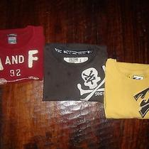 Lot of Brand Name Shirts Abercrombie & Fitch Zoo York Billa Bong Photo